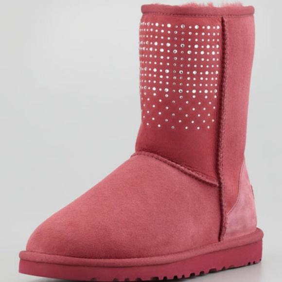 UGG Shoes - Brand new UGG Australia Bling Studded Short Boot